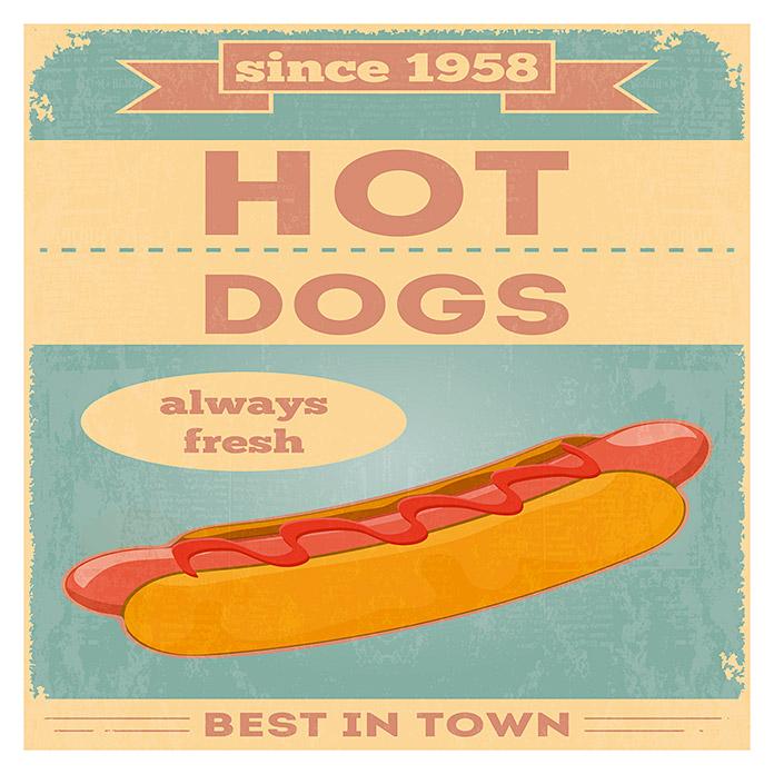 Canvas Hotdogs