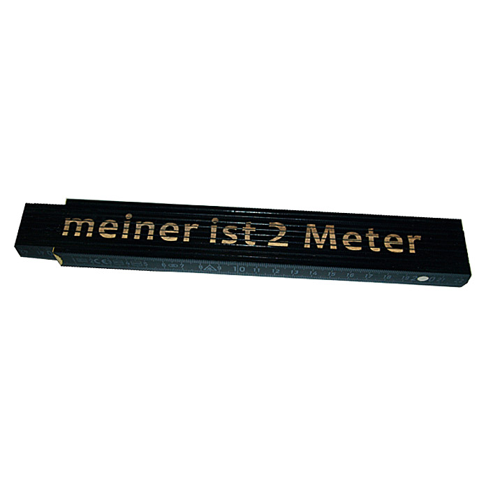 Meter Meiner ist 2 Meter