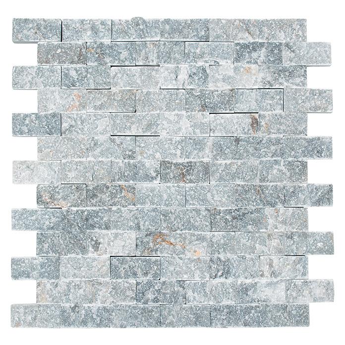 Mosaïque en pierre naturelle à base de marbre noir