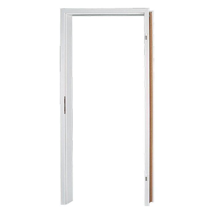 Cadre de porte GetaDoor Laminit GL223 blanc uni Épaisseur de la paroi 100 mm