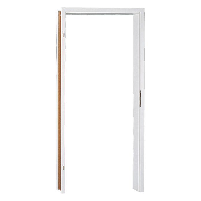 Cadre de porte GetaDoor Aperto GA24 blanc uni Épaisseur de la paroi 125 mm