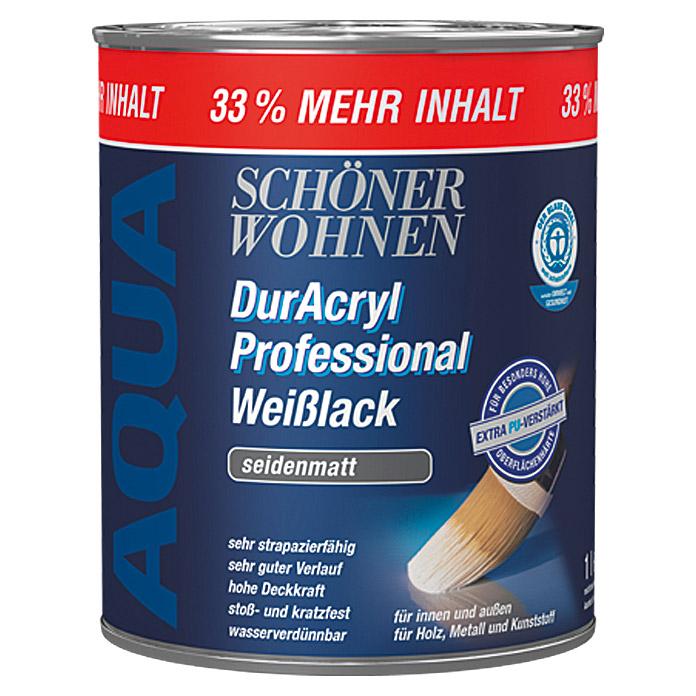 SCHÖNER WOHNEN DurAcryl Professional Weisslack