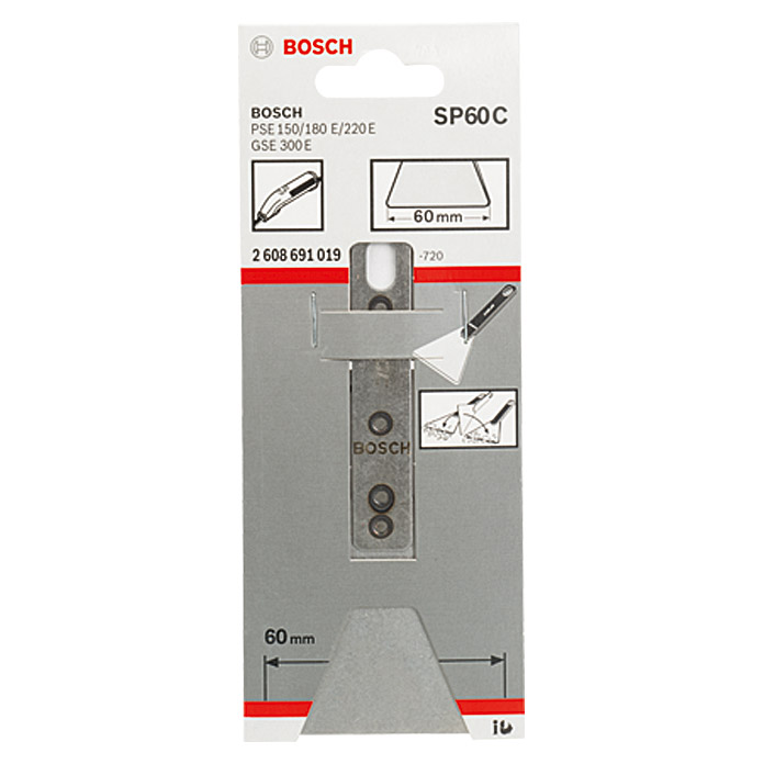 BOSCH Schaber-Spachtel SP 60 C