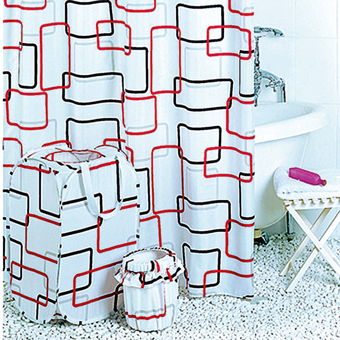 VENUS Textil-Duschvorhang Network