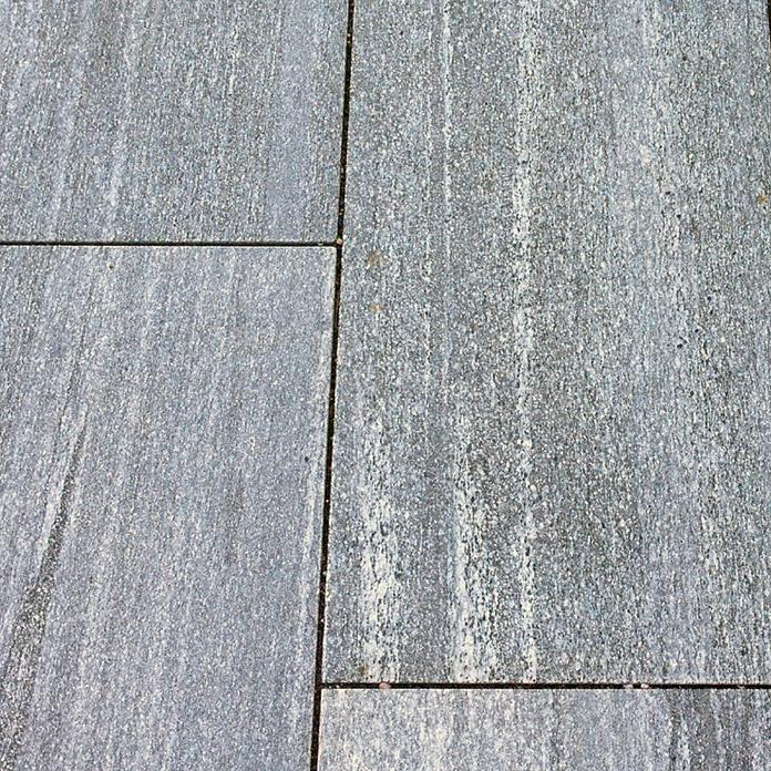 Natursteinplatte Silber Gneis