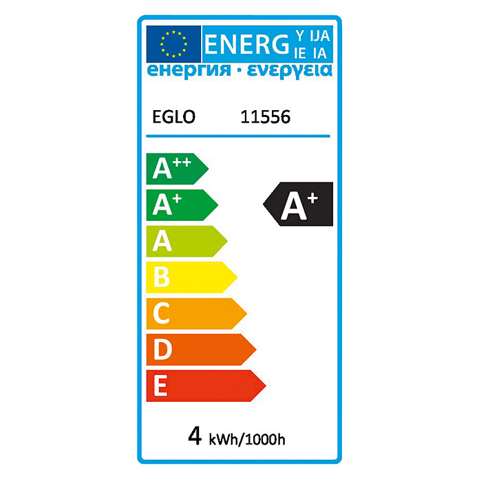 EGLO LED-Leuchtmittel Amber G80