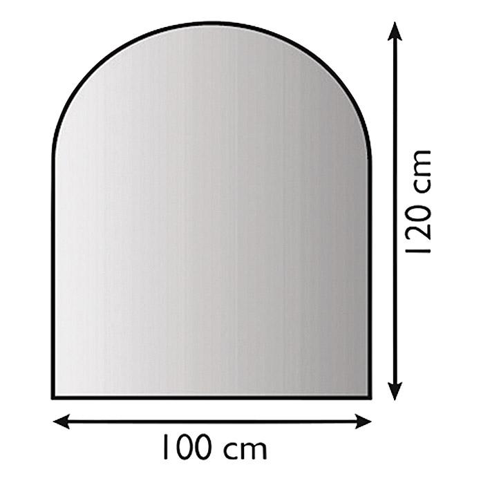 LIENBACHER Plaque de poêle 100 x 120 cm