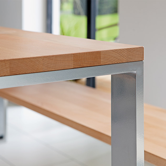 PUR ITERNAL Tischplatte Buche Kern