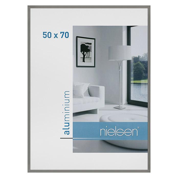 Cadre photo Nielsen C2 gris 50 x 70 cm