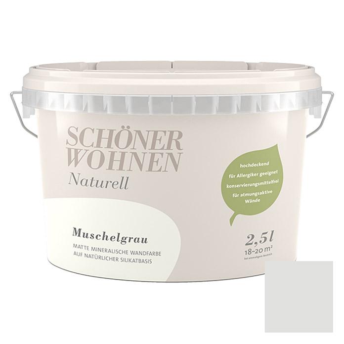 SCHÖNER WOHNEN Wand- Und Deckenfarbe Naturell Muschelgrau