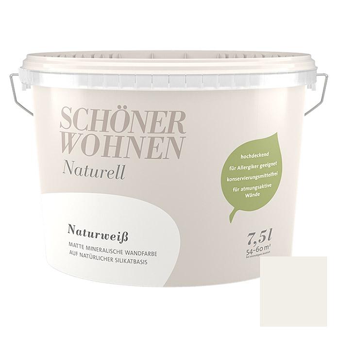Peinture murs et plafonds SCHÖNER WOHNEN Naturell blanc naturel