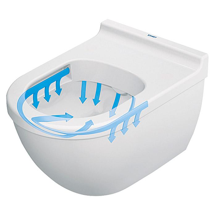 DURAVIT Set WC a parete a brida aperta Starck 3