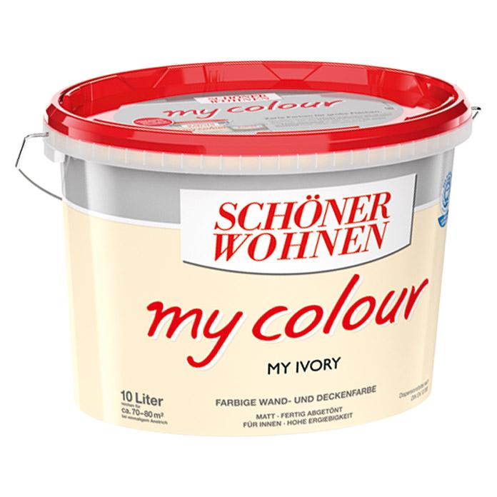 Schoner Wohnen My Colour Wand Und Deckenfarbe Ivory Bei Bauhaus Kaufen