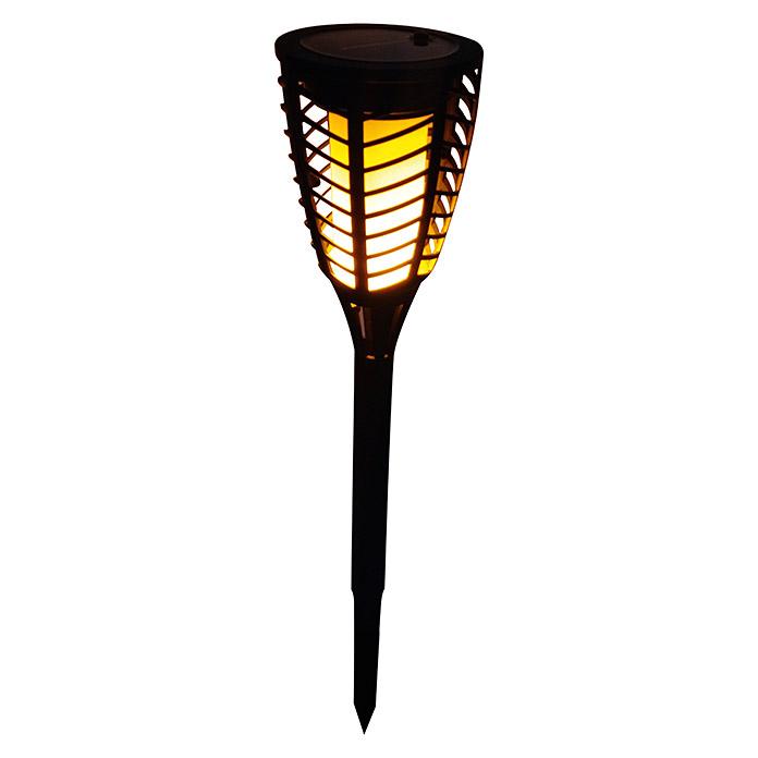 BAUHAUS LED Solar-Erdspiess Fackel Flame