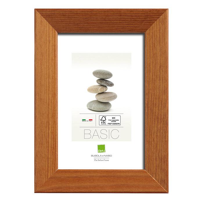 Cadre photo en bois 2701 noix 40 x 50 cm