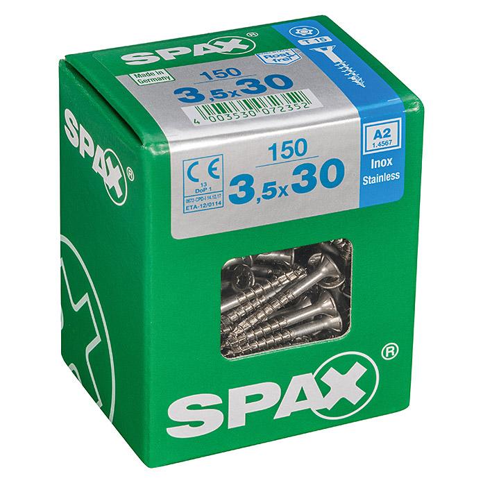 SPAX Vis à tête fraisée T-Star plus Ø x L: 3.5 x 30 mm