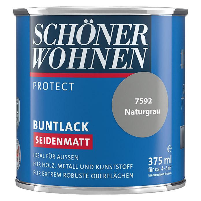 SCHÖNER WOHNEN PROTECT laque couleur gris natur satiné