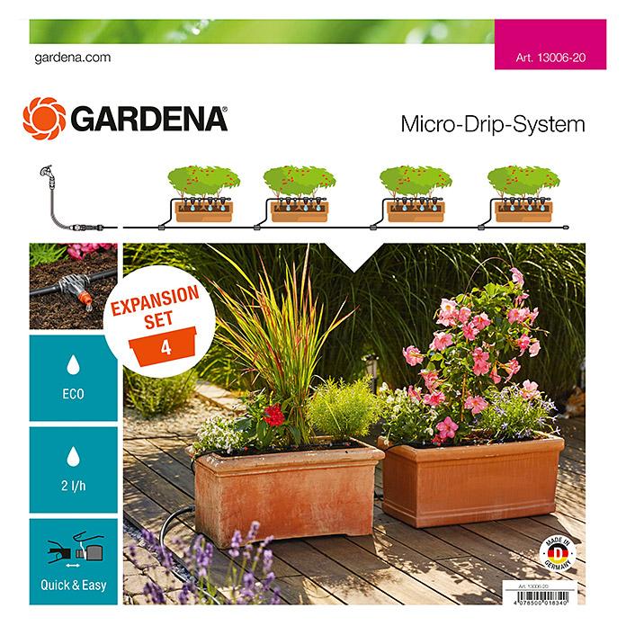 GARDENA Micro Drip Erweiterungsset Pflanztröge