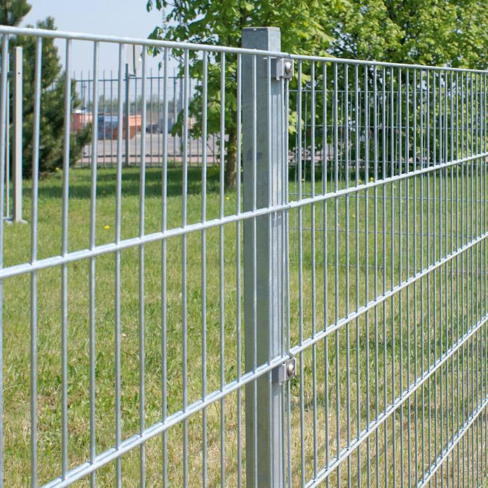 clôture de métal SMALL hadra gris