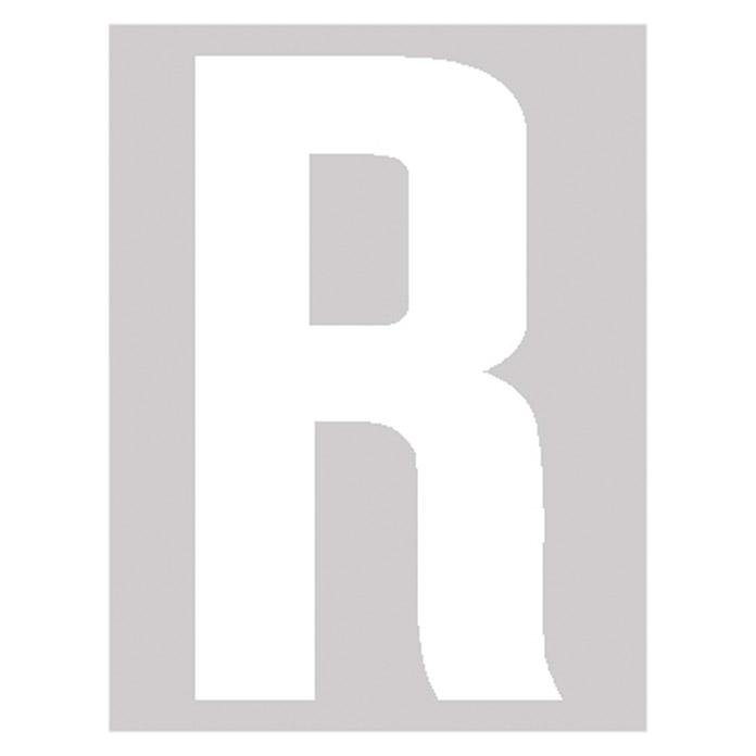 Lettre autocollant R 95 mm
