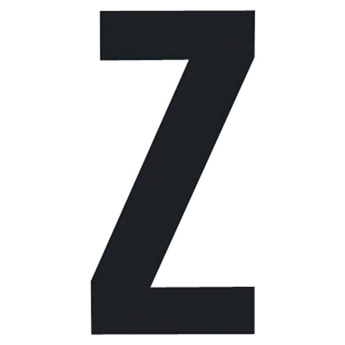 Folienbuchstabe Z 95 mm