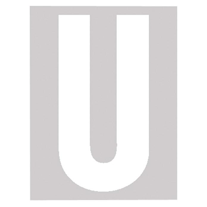 Folienbuchstabe U 30 mm