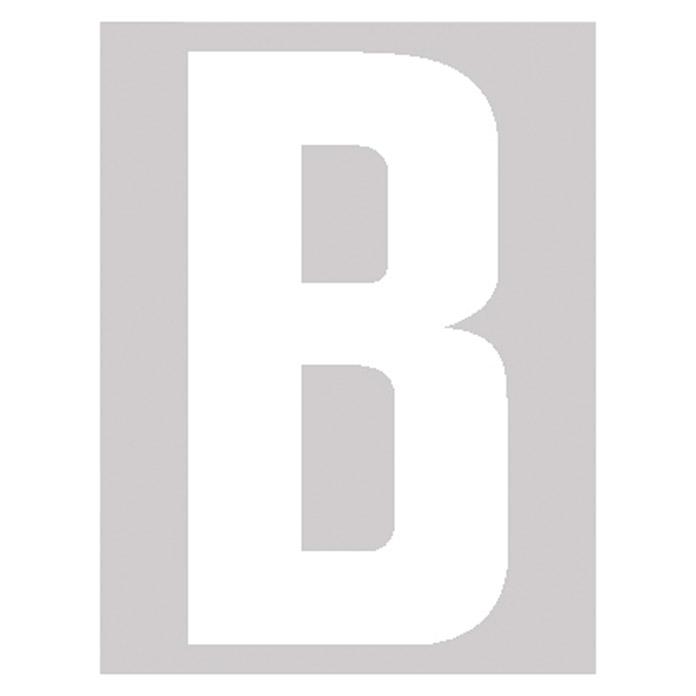 Lettre autocollant B 30 mm