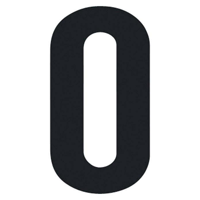Lettre autocollant O 30 mm
