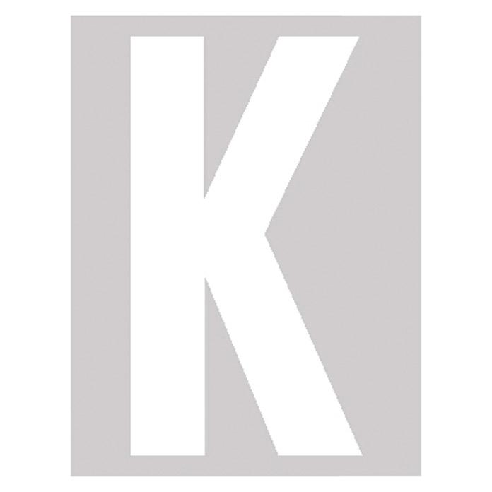 Folienbuchstabe K 95 mm
