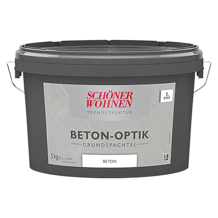 SCHÖNER WOHNEN Beton-Optik Grundspachtel